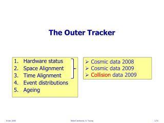 The Outer Tracker