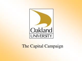 The Capital Campaign