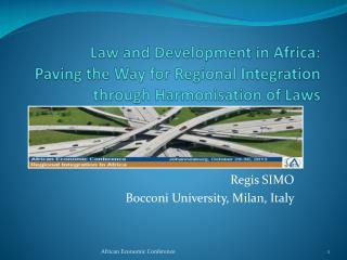Regis SIMO Bocconi University, Milan, Italy