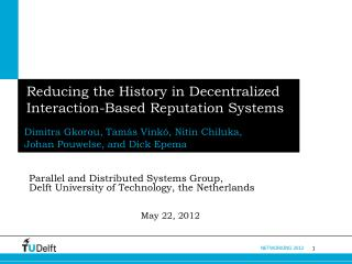 Reducing the History in Decentralized  Interaction-Based Reputation Systems