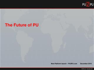 PU2PU – December 2011