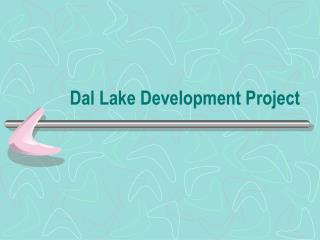 Dal Lake Development Project