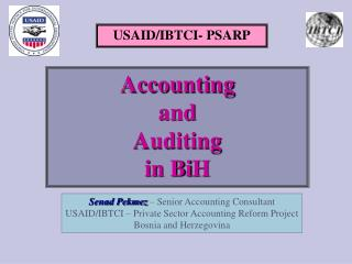 USAID/IBTCI- PSARP