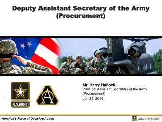 Deputy Assistant Secretary of the Army (Procurement)