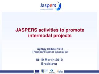 JASPERS activities to promote intermodal projects