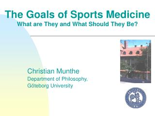 The Goals of Sports Medicine  What are They and What Should They Be?
