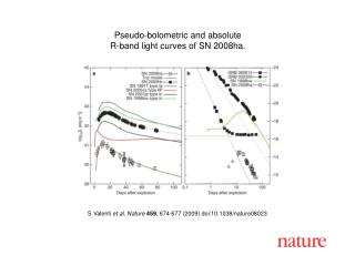 S Valenti  et al. Nature 459 , 674-677 (2009) doi:10.1038/nature08023