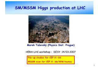 SM/MSSM Higgs production at LHC