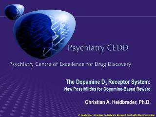 Selective Dopamine D 3  Antagonists: Commitment to Target for Drug Abuse (I)
