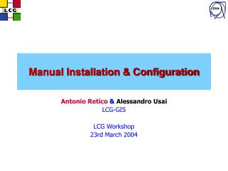 Manual Installation & Configuration
