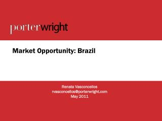 Market Opportunity: Brazil