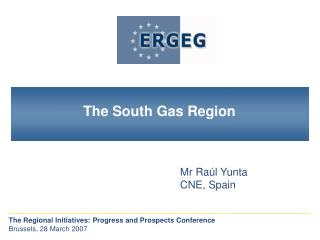 Main Features of the South Gas Region