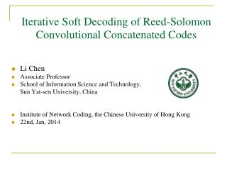 Iterative Soft Decoding of Reed-Solomon Convolutional Concatenated Codes