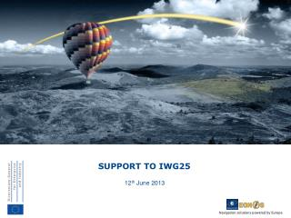 SUPPORT  TO  IWG25