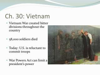 Ch. 30: Vietnam