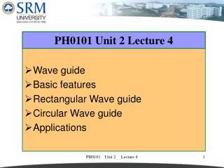 PH0101 Unit 2 Lecture 4