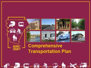 1974 Burnet County Transportation Plan