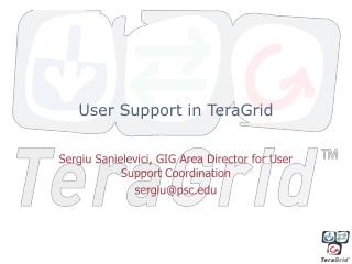 User Support in TeraGrid