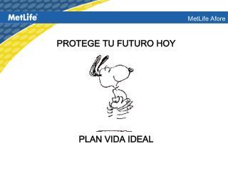 PROTEGE TU FUTURO HOY         PLAN VIDA IDEAL