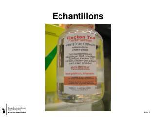 Echantillons