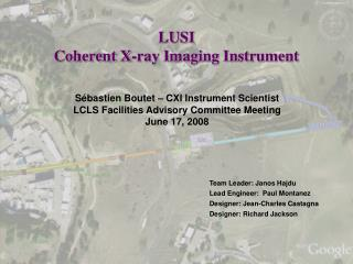 LUSI Coherent X-ray Imaging Instrument