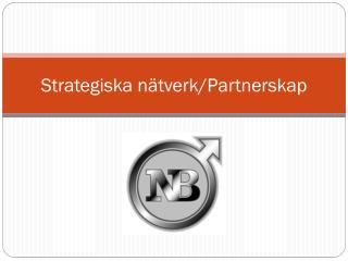 Strategiska nätverk/Partnerskap