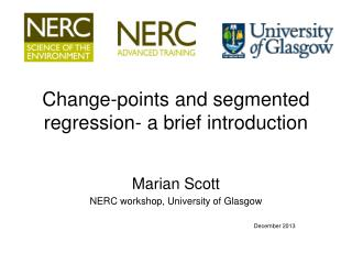 Change-points and segmented regression- a brief introduction