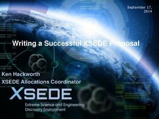 Writing a Successful XSEDE Proposal