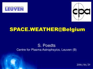 SPACE.WEATHER@Belgium