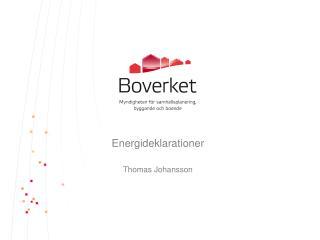 Energideklarationer
