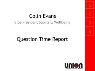 Colin Evans