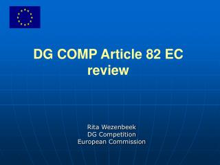 DG COMP Article 82 EC review