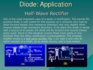 Diode: Application
