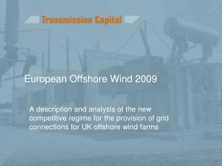 European Offshore Wind 2009