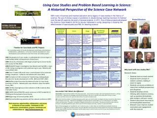 Why teach with case studies/PBL?   Research shows: Students learn as much content