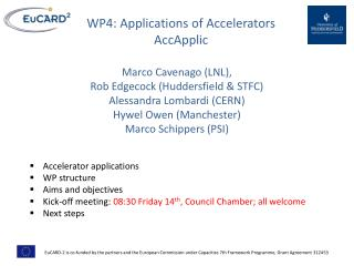 WP4: Applications of Accelerators AccApplic
