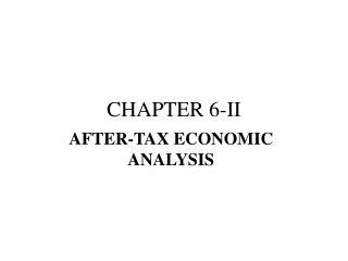 CHAPTER 6-II