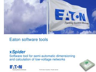 Eaton software tools