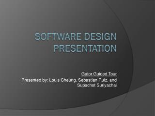 Software Design Presentation