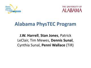 Alabama  PhysTEC  Program