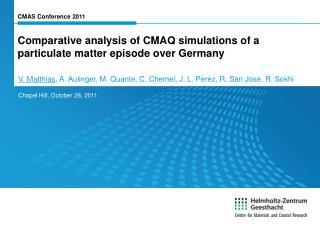 CMAS Conference 2011