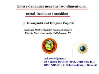 Glassy dynamics near the two-dimensional