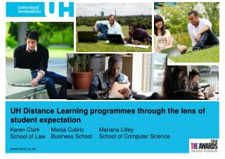 UH Distance Learning programmes through the lens of student expectation