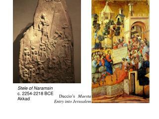 Stele of Naramsin c. 2254-2218 BCE Akkad