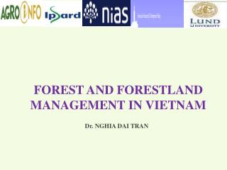 FOREST AND FORESTLAND MANAGEMENT IN VIETNAM