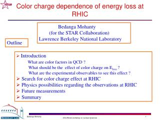 Color charge dependence of energy loss at RHIC