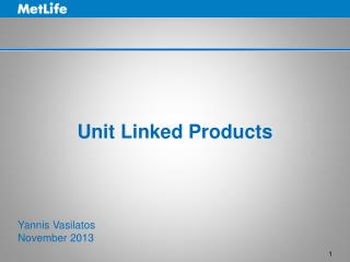 Unit Linked Products