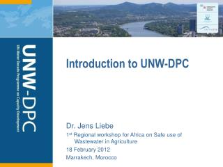 Introduction to UNW-DPC