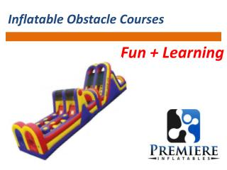 Inflatable Obstacle Courses Fun and Learning