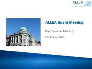 Edinburgh Business Assembly